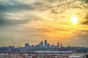 kansas city skyline, contact us
