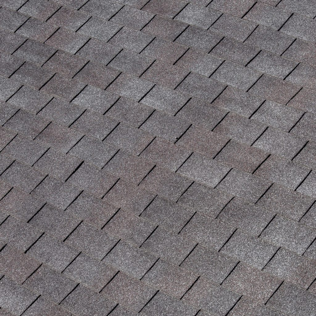 Shingles on a roofing system
