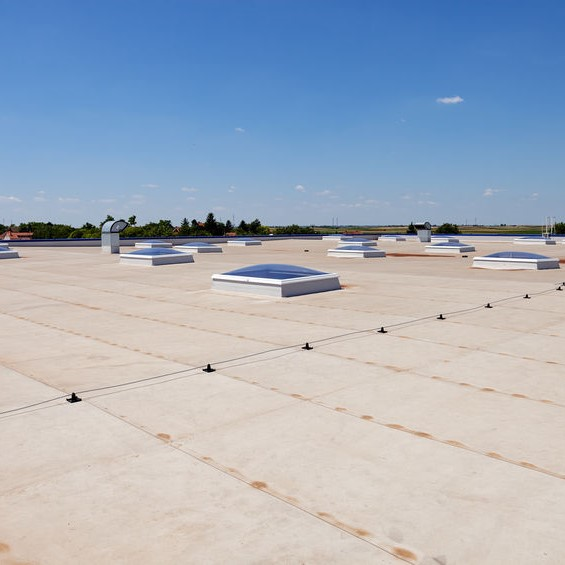 flat roofing system TPO