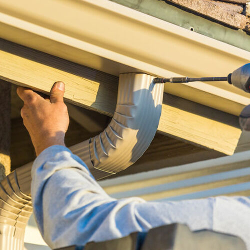 Gutter Repair for Residential Home