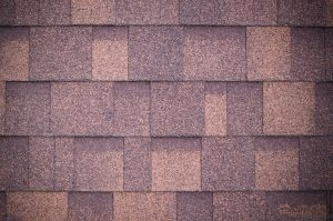 Roof with Brown Shingles